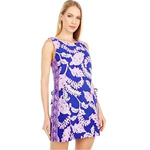 🌹 LILLY PULITZER DONNA ROMPER What The Shell BLUE